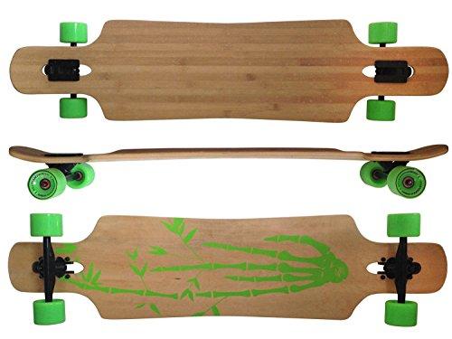 MAXOfit Deluxe Longboard Bamboo Race 9 Schichten Maple, 107 cm, or-19004