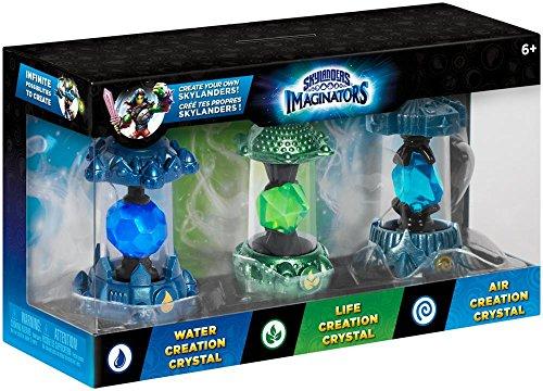 Skylanders Imaginators - Crystals 3er Pack (Water, Air, Life)