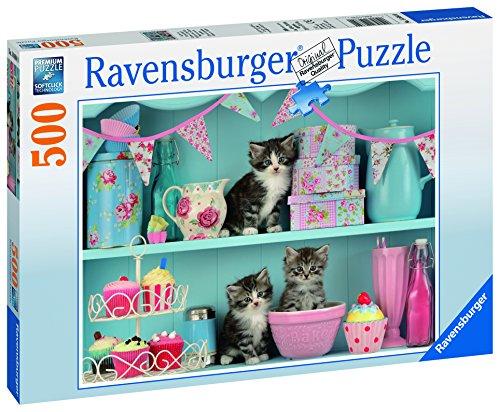 Ravensburger 14684 - Katzen im Cupcakeregal