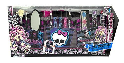 Monster High / Make-up Gürtel, Schürze mit viel Schminke + Pinsel