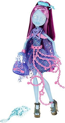 Mattel Monster High CDC33 - Verspukt Geisterschüler Kiyomi Haunterly Puppe