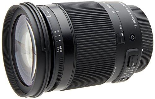 Sigma 18-300/3,5-6,3 DC Makro OS HSM Objektiv (Filtergewinde 72mm) für Canon Objektivbajonett schwarz