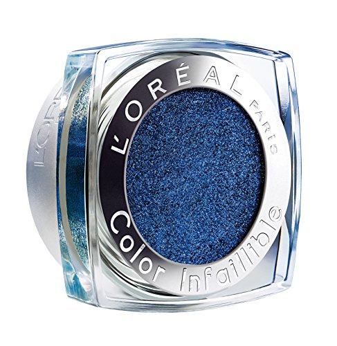 L'Oréal Paris Indefectible Color Infaillible Lidschatten, 06 All Night Blue
