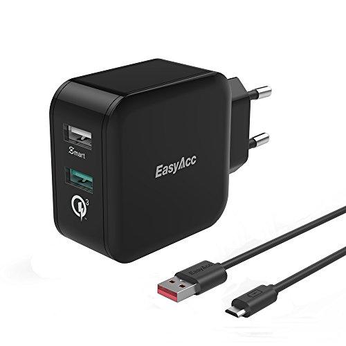 EasyAcc 30W QC 3.0 Ladegerät mit Filz Tasche