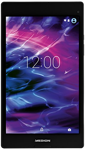 Medion MD99443 20,3 cm (8 Zoll) Tablet PC (Intel Atom Z3735F, 2GB RAM, 16GB SSD, IPS-Technologie, 5 Megapixel Kamera, Android Lollipop 5.0) titan