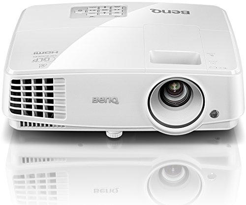 BenQ TW529 DLP-Projektor (3D über HDMI, WXGA, 1280 x 800 Pixel, 3300 ANSI-Lumen, Kontrast 13000:1, VGA, Smart Eco) weiß