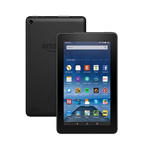 Fire-Tablet, 17,7 cm (7 Zoll) Display, WLAN, 8 GB (Schwarz)