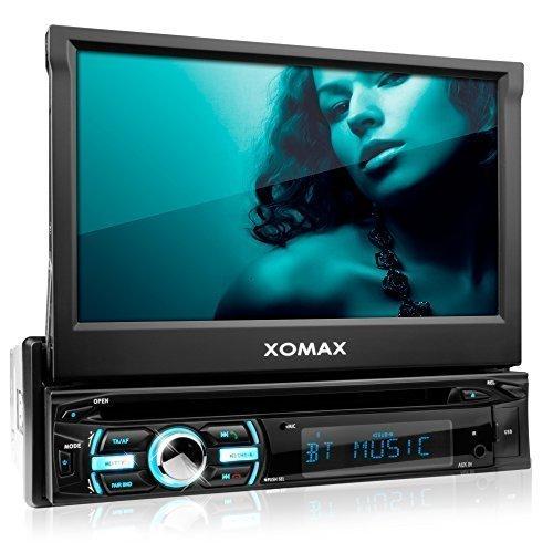 XOMAX XM-DTSB925 Autoradio / Moniceiver + Bluetooth Freisprecheinrichtung & Musikwiedergabe + 18cm / 7