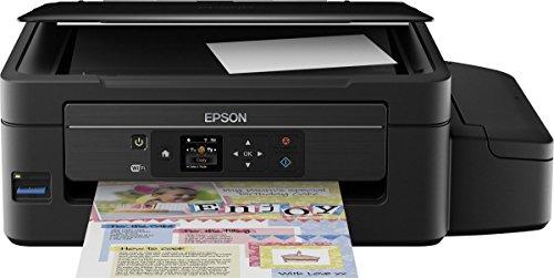 Epson EcoTank ET-2550 All-In-One nachfüllbares 3-in-1 Tintenstrahl Multifunktionsgerät (Kopierer, Scanner, Drucker, WiFi,  USB 2.0, große Tintenbehälter, hohe Reichweite, niedrige Seitenkosten)