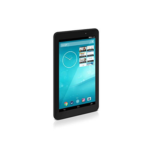 TrekStor SurfTab breeze 7.0 quad, 17,78 cm (7 Zoll Android-Tablet), Touch-Display, Quad-Core, 512 MB RAM, 8 GB Speicher, WiFi, Android 4.4.2, schwarz