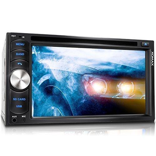 XOMAX XM-2DTSB6217 Autoradio / Moniceiver + Bluetooth Freisprecheinrichtung & Musikwiedergabe + 16cm / 6,2