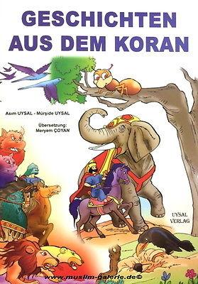 Geschichten aus dem Koran für Kinder Deutsch *Islam Quran muslim hijab Abaya*