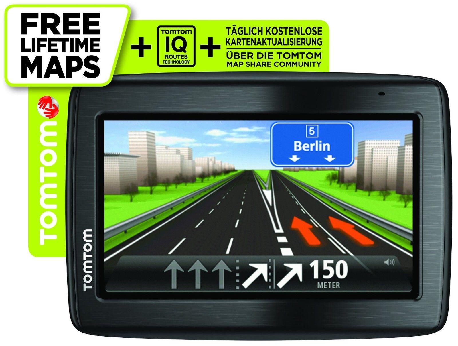 TomTom Via135M Central Europe Traffic Navigationssystem inkl FREE Lifetime Maps