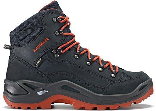 LOWA Renegade GTX Mid Outdoor Schuhe navy-rost - 41,5