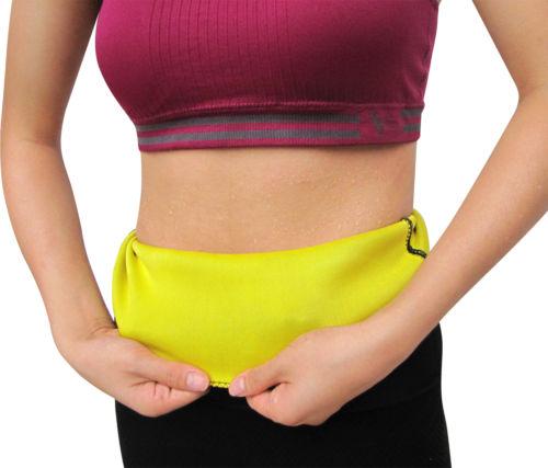 Neoprene Fat Burner Hot Slimming Exercise Waist Body Shaper Tummy Trimmer Belt