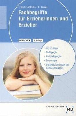 Fachbegriffe für Erzieherinnen und Erzieher (Schulbuch) NEU