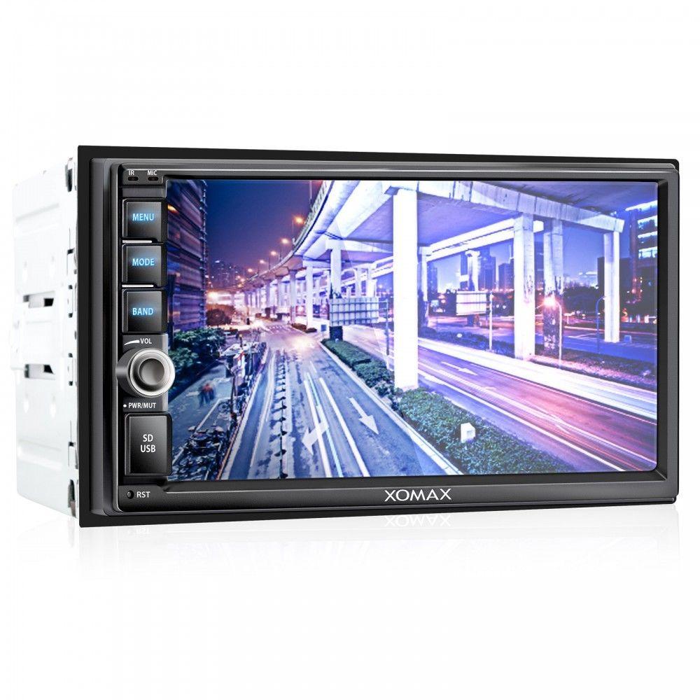 XOMAX AUTORADIO TOUCHSCREEN VIDEO BILDSCHIRM BLUETOOTH USB SD MP3 DOPPEL 2DIN