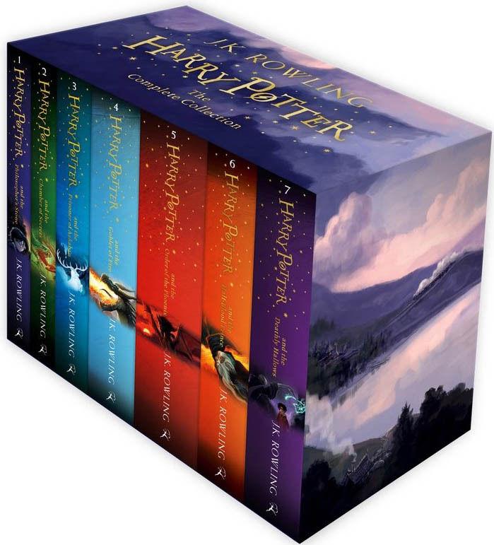 The Complete Harry Potter 7 Bücher Sammlung Set J. K. Rowling
