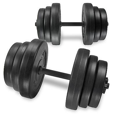 40 kg 2x20kg Kurzhantel Set Hanteln Gewichte Hantelscheiben Hantel Krafttraining