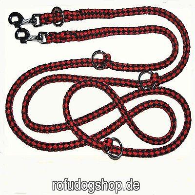 Top Preis* Hundeleine 2,80m 4-fach verstellb. 35 Farben