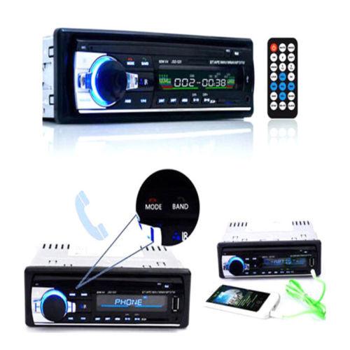 Kfz Auto Autoradio Freisprecheinrichtung Bluetooth Radio MP3 USB Anrufen LI 14