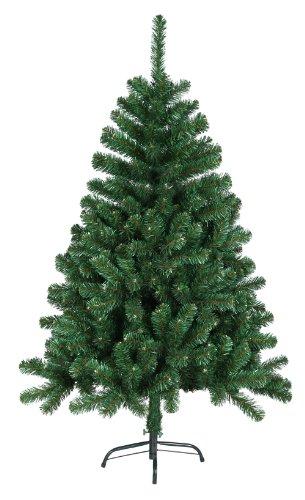 120 cm künstlicher Weihnachtsbaum Tannenbaum Christbaum mit Metallfuß in grün