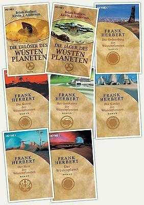 DUNE  Der Wüstenplanet Band 1 bis 8 Brian Herbert  NEU