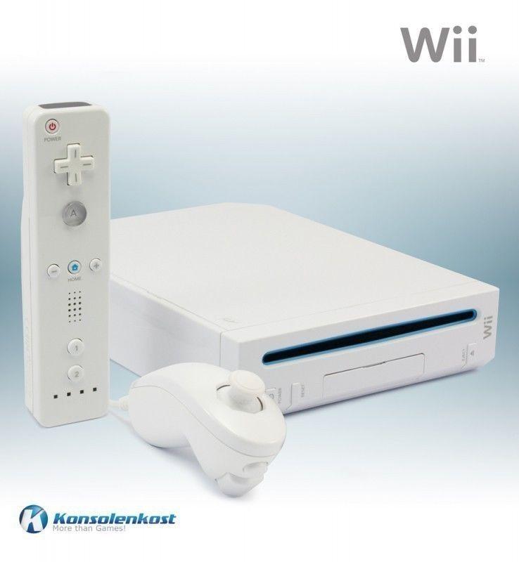 Nintendo Wii - Konsole #weiß (inkl. Remote & Zub.)
