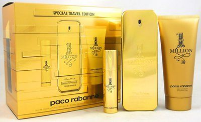 Paco Rabanne 1 Million One Million Set 100 ml EDT & 100 ml Duschgel & 10 ml EDT