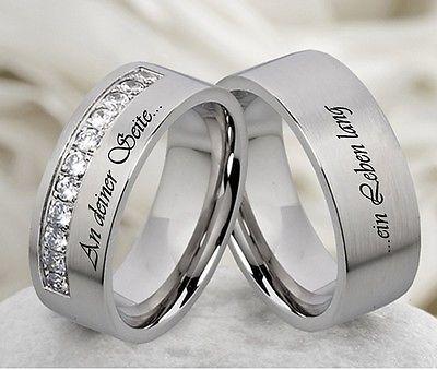 Eheringe Trauringe Verlobungsringe & kostenloser Aussenlasergravur  M056