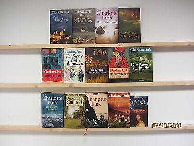 Charlotte Link 14 Bücher Romane Krimi Kriminalromane historische Romane