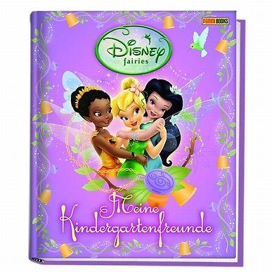 DISNEY  Fairies. Mein Kindergarten-Freundebuch **NEU**