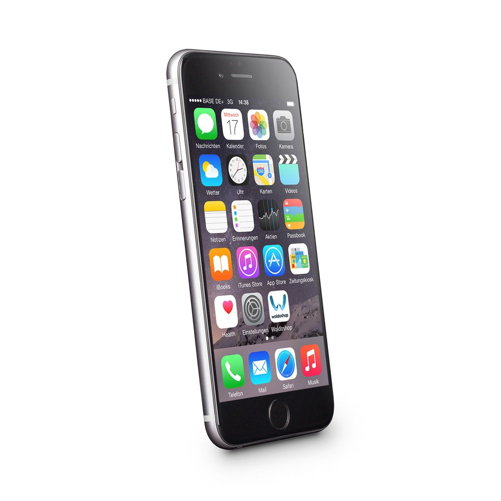 Apple iPhone 6 Plus 16GB Spacegrey Ohne Simlock Ohne Vertrag Smartphone K2