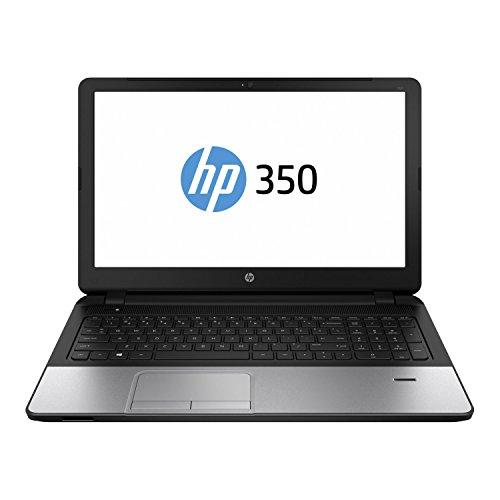 HP 350 G2 (L8B08ES) 39,6 cm (15,6 Zoll) Business Notebook (Intel Core i5-5200U, 2,2 GHz, 4GB RAM, 500GB HDD, Intel HD-Grafikkarte 5500, Windows 7 Professional) silber/schwarz