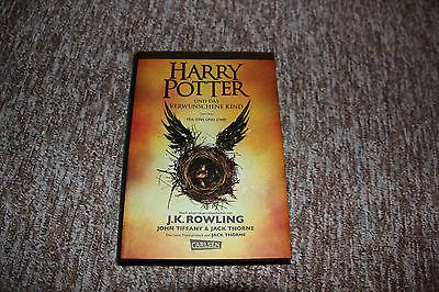 Harry Potter Und das verwunschene Kind Teil1 und 2 ( neuwertig)
