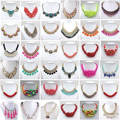 Statement Damen Vintage Gliederkette Spikekette Kragen Kette Halskette für Party