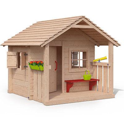 COLIN CASTLE Spielhaus Kinderspielhaus Gartenhaus Holz Haus