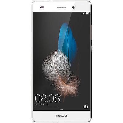 HUAWEI P8 Lite, Smartphone, 16 GB, 5 Zoll, Weiß/Gold, LTE