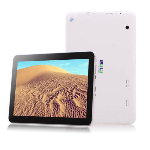 IRULU 10.1 Zoll Android 5.1 Quad Core 8GB Tablet PC Bluetooth 1024X600 5500mAh