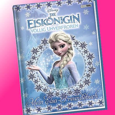 DISNEY | DIE EISKÖNIGIN - Mein Elsa-Freundebuch | Freunde-Buch (Buch)