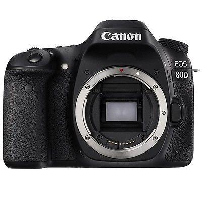 Canon EOS 80D Gehäuse DSLR Kamera - NEU