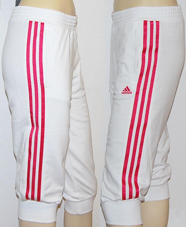 Adidas 3S 3/4 Pant Baumwolle Caprihose Capri 128 - 140 - 152 - 164 - 176 Neu