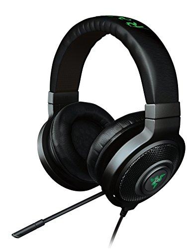 Razer Kraken 7.1 Chroma RGB beleuchtetes Sound USB Gaming Headset (Surround Sound mit einziehbaren Mikrofon für PC und PS4) Schwarz (RGB Beleuchtet)