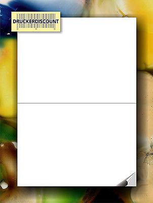 200 Etiketten 210 x 148 mm (100 DIN A4 Bogen) Versandetiketten Klebeetiketten