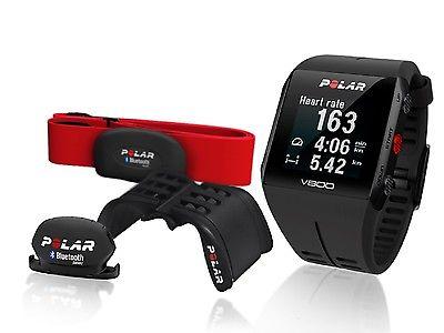 Polar V800 HR Special Edition schwarz Trittfrequenzsensor Cadence Radhalterung