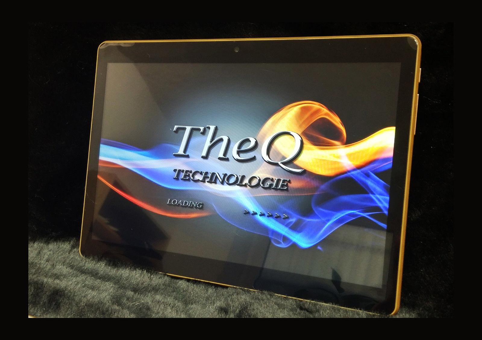 TheQ TP41 3G Quad-Core Tablet PC 10 Zoll 2GB+80GB Handy Sim Schwarz Simlockfrei