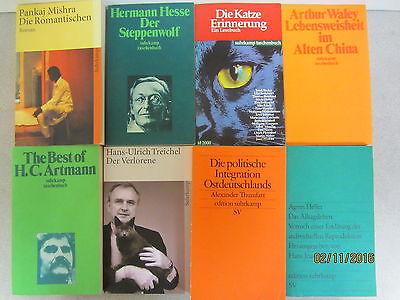99 Bücher Taschenbücher suhrkamp Verlag