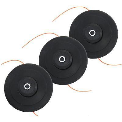 3 Stück PROFI Doppelfadenkopf Tippautomatik Spule Fadenspule Benzin Motorsense