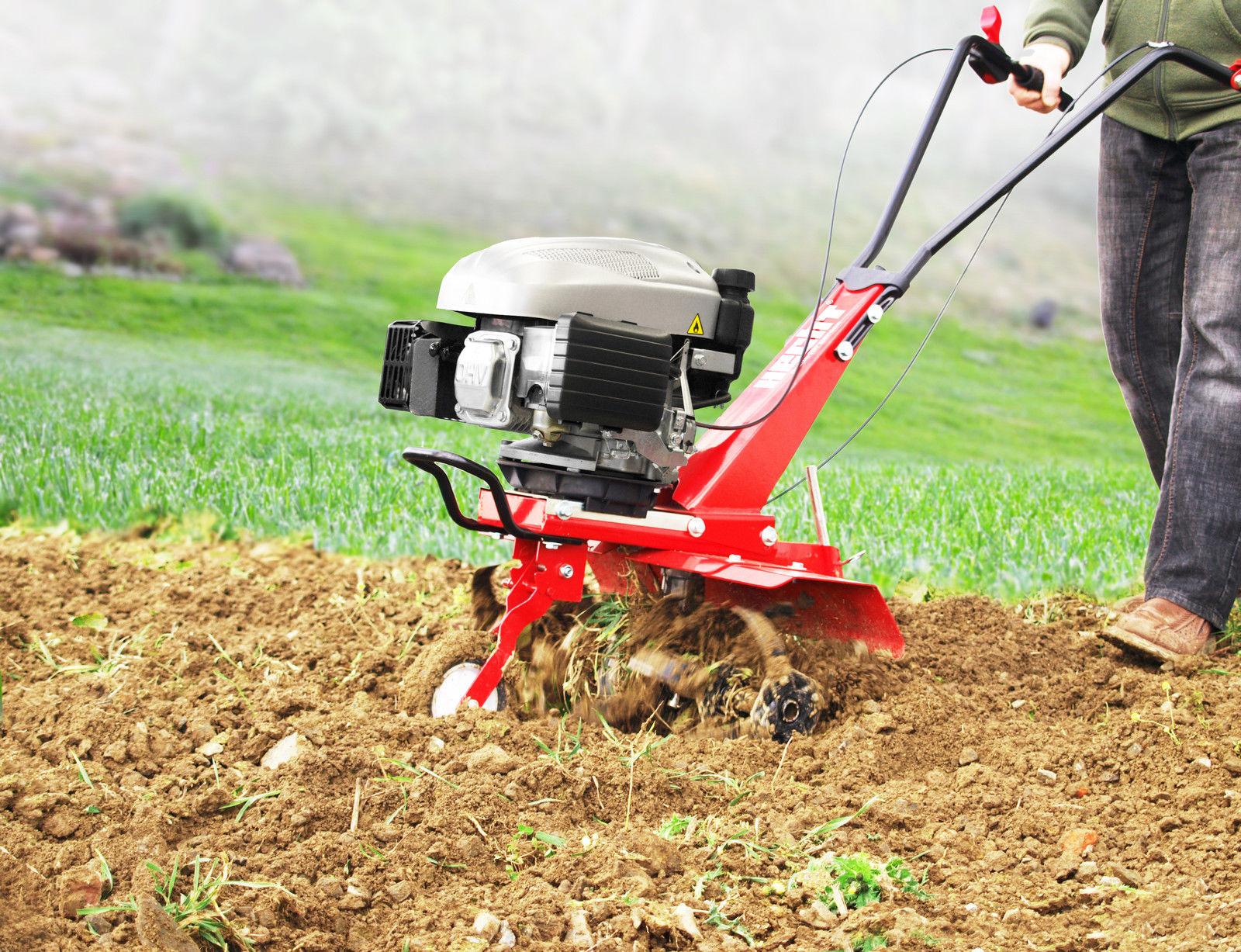 H746 Benzin Gartenfräse Motorhacke Bodenfräse Kultivator Fräse Hacke Bodenhacke