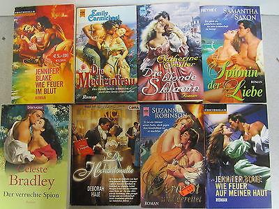 74 Bücher Taschenbücher historische Liebesromane historische Romane Romantik